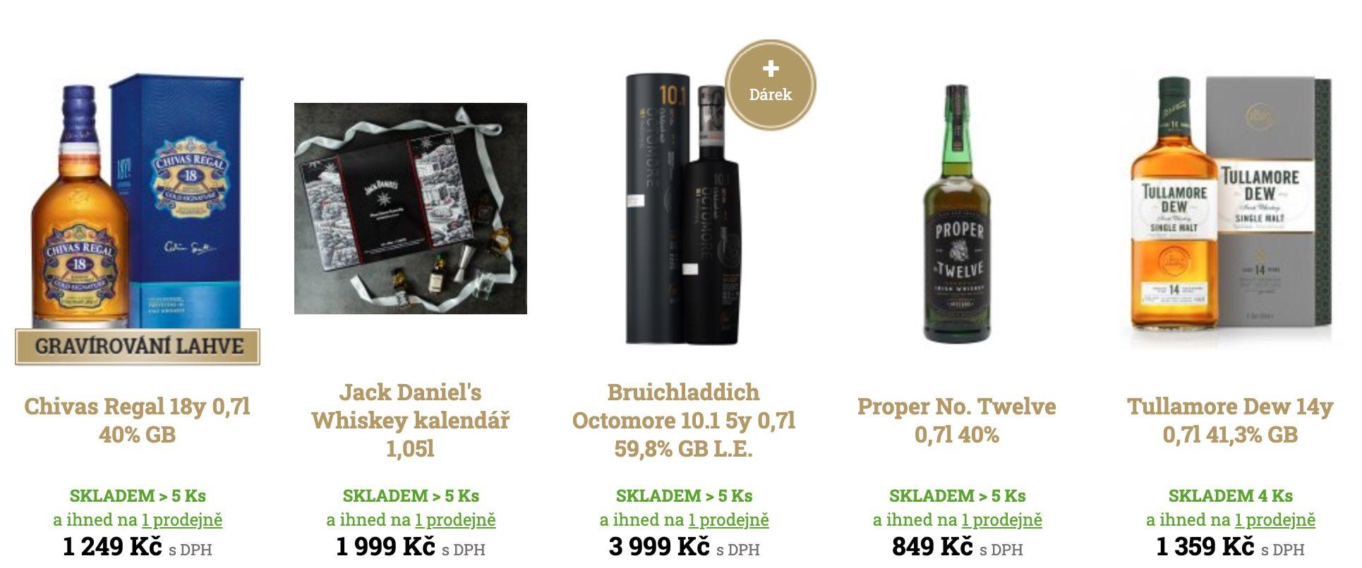 investiční whisky koupit
