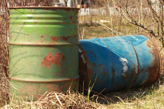záporná cena ropy